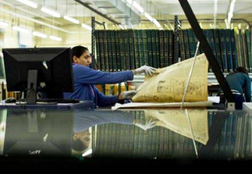 Những tờ báo 200 tuổi xuất hiện trên mạng trực tuyến